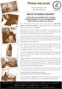 Z WINE_ONE OF THE WORLDS GREATEST